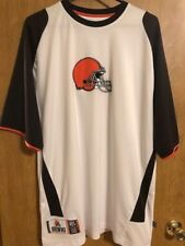 Sharp NFL Cleveland Browns Football Team Apparel Men's S/S Shirt Sz L - NWOT