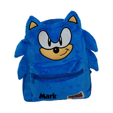 Sonic Zoom Officially Licensed Backpack- Plain/Personalised Gifts Present School