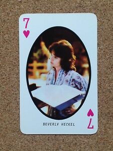 Misc - Country Music Singers Artist Single Playing Card  Various Singers Artists