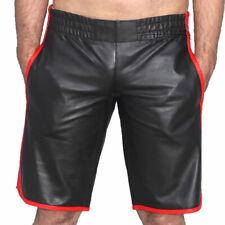 4de2e1579e Full Grain Cowhide Real Leather Sports Basketball Short Chaps for Men Heavy