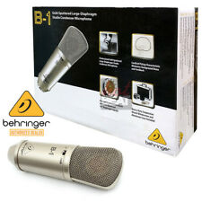 Behringer B1 Single Large Diaphragm Studio Cardioid Condenser Microphone B-1 NEW