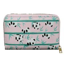 Panda Zip Around Purse - Zoo Animal Design Wallet - Girls Ladies Pouch Case