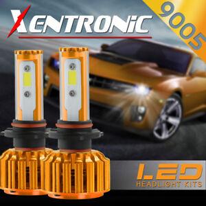 2x 9005 488W HB3 LED Headlight COB Car Kit 6000K White Beams 48800LM Bulb N7