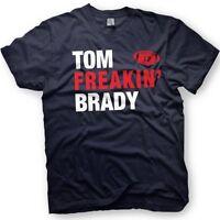 Tom Brady Shirt- New England Patriots  -  Number 12 - Funny shirt