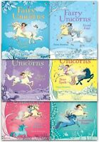Usborne Fairy Unicorns Collection 6 Books Set Zanna Davidson Magic Forest, Charm