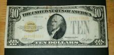 1928 US $10 DOLLARS GOLD CERTIFICATE.