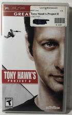 Tony Hawk's Project 8 Sony PlayStation PSP Complete CIB Tested