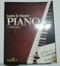 Learn & Master Piano With Will Barrow - 10 Dvds, 5 Cds & Book - 2nd Edition