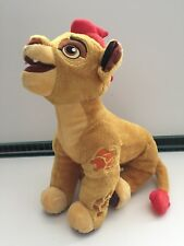"Disney Store - RARE 14"" Lion Guard Kion Soft Plush Toy VGC (Lion King)"