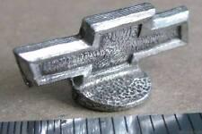 Monopoly Corvette BOW TIE HOOD ORNAMENT token metal pewter mini