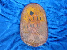 COOL CUSTOM CHOPPER BOBBER HAND TOOLED LEATHER SOLO SEAT BAD A$$