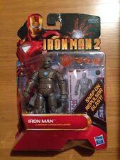 Marvel Iron Man 2 W/3 Armor Cards Action Figure MOC Sealed Hasbro