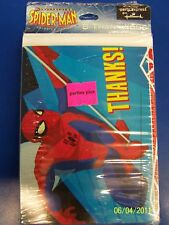 Spectacular Spider-Man Birthday Party Thank You Notes
