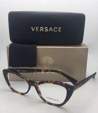 d6008956538 New VERSACE Eyeglasses 3222-B 5148 52-16 140 Tortoise Cat Eye Frames w