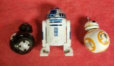 R2-D2, BB-8 & BB-9E Astromech Droid Force Link 2.0 Star Wars Action Figure Lot