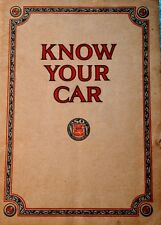 Socony Standard Oil Company Antique 1928 Know Your Car booklet gas collectible