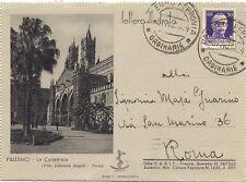 P6758   Palermo, lettera illustrata da Palermo per Roma 1942