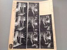 MICHELINE PRESLE  : PLANCHE CONTACT  DE 1965 (8 Photos)