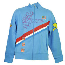 Malaysia Flag Zipper Jacket Mens Adult Tibet Sweater Red Stripe Tiger Baby Blue