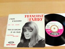 45-EP w/Picture Sleeve FRANCOISE HARDY J'suis D'accord VOGUE EPL-7967