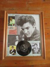 Elvis Presley Framed Photos pictures + vinyl single record memorabilia large
