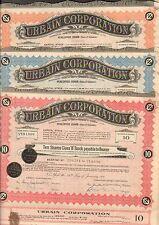 3 titres: URBAIN CORPORATION (USA DELAWARE) (P)