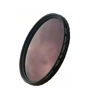 67mm Fader IR Filter 550nm - 750nm Adjustable Infrared Filter 67 mm Fourth Eye