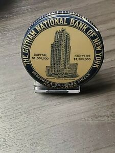 Celluloid Dime Bank The Gotham National Bank Of New York