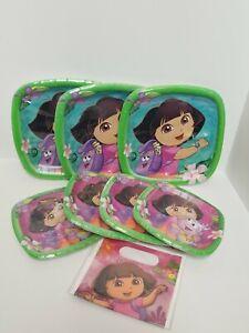 Dora The Explorer Nickelodeon Birthday Party Supplies Plates lot