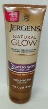 1 Jergens Natural Glow 3 Days To Glow Moisturizer Medium To Tan 4 fl oz