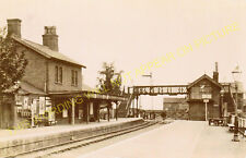 Wainfleet Railway Station Photo. Thorpe Calvert - Havenhouse. Skegness Line. (7)
