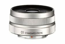 New PENTAX 01 STANDARD PRIME Silver Q mount 22067 F1.9