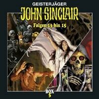 JOHN F SINCLAIR 13-15 - GEFANGEN IN DER MIKROWELT/++ 3 CD  WORT KINDER  NEU
