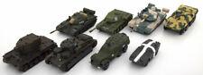 1:72 Altaya Panzer 8 DIFFERENT Military vehicles