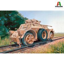 Italeri 7064 Autoblinda AB 40 ferroviaria 1/72 Kit de modelo de escala