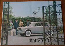 FIAT 2300 DL DELUXE DE LUXE BROCHURE