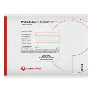 10 Padded Mailer – PM0 – 125mm x 160mm ***FREE EXPRESS POSTAGE***