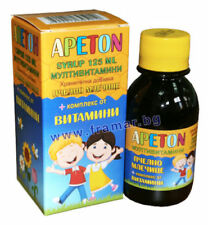 MULTIVITAMIN SYRUP APETON Appetite Booster for kids with royal jelly immune 125m
