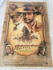 indiana jones the last crusade- Movie Poster