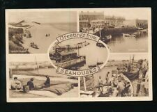 Northumberland SEAHOUSES M/view used c1950 PPC