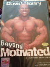 David Henry Beyond Motivated Bodybuilding DVD Brand New And Sealed!!