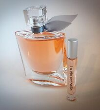 LA VIE EST BELLE LANCOME .17OZ 5ML ATOMIZER EAU DE PARFUM SPRAY SAMPLE PERFUME