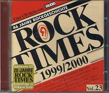 Audio Rock Times Vol. 23 1999-2000 Gold CD Various New