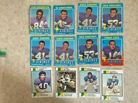 Topps 1971-1978 Minnesota Vikings 20 Card Lot