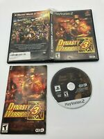 Sony PlayStation 2 PS2 CIB Complete Tested Dynasty Warriors 3 Ships Fast