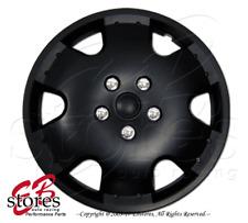 "Hubcaps Style#720 16"" Matte Black 4pcs Set 16 inch Rim Wheel Skin Cover Hub cap"