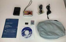 Sony Cybershot DSC - S780 8.1MP Silver Digital Camera Set with Accessories