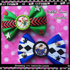 Street Fighter Cammy Chun Li Videogame Nerd Hair Bows