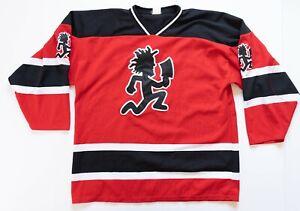 Psychopathic Records Hockey Jersey Men's XL Hatchman ICP Insane Clown Posse Red