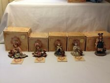 (5) Yesterdays Child The Dollstone Collection 1995 Boyds Collection Ltd Mib See